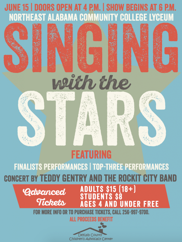 Join us for a night filled with fun at Singing With the Stars!
