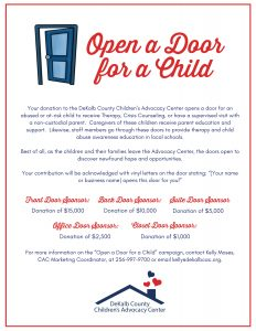 Open a Door for a Child